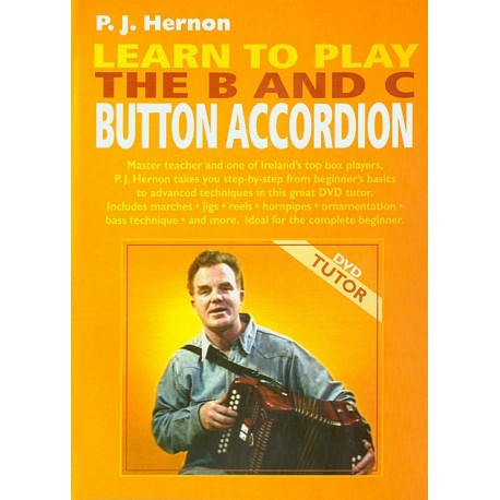 Learn to play the B and C button accordion (DVD)