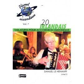20 morceaux Irlandais - Livret 2