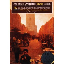 An Irish whistle tune book