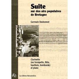 Suite des airs populaires de Bretagne