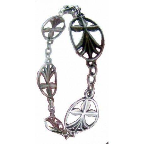 Bracelet médailles hermine