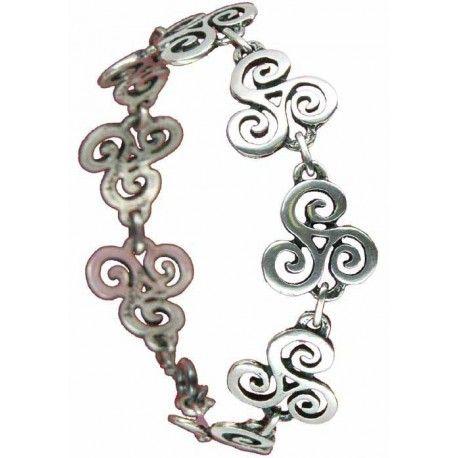 Bracelet triskels découpés