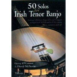 Banjo - 50 solos for Irish tenor Banjo