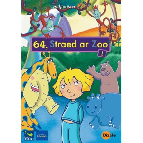 DVD - STRAED AR ZOO 2