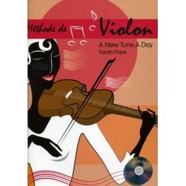 Methode de Violon (FR) - A new tune A day - Sarah Pope