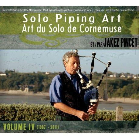 Jakez PINCET - Art du Solo de Cornemuse (Volume IV - 4 CD)