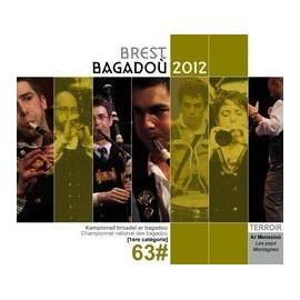 Championnat national des Bagadoù - Brest 2012 (CD /DVD)