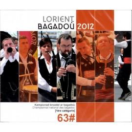 Championnat national des Bagadoù - Lorient 2012 (CD /DVD)