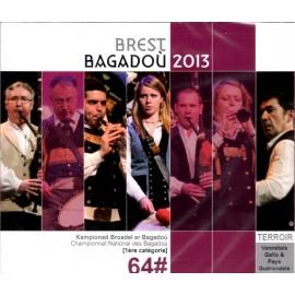 Championnat national des Bagadoù - Brest 2013 (CD /DVD)
