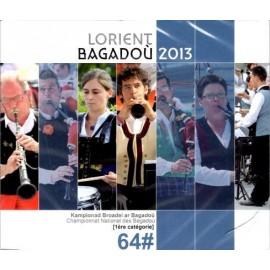 Championnat national des Bagadoù - Lorient 2013 (CD /DVD)