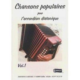 Chansons populaires pour l'accordéon diatonique