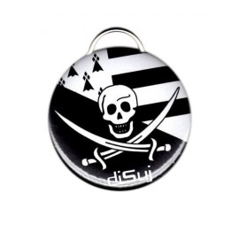 Porte-clef / décapsuleur Pirate