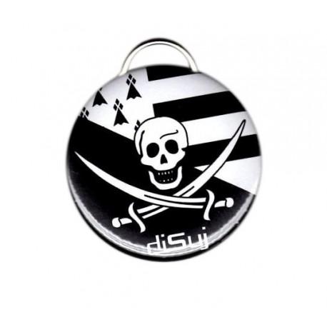Porte-clef / décapsuleur Pirate