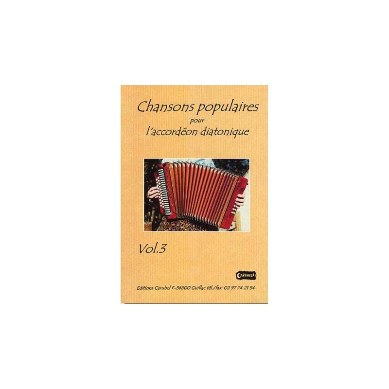 Chansons Populaires Pour L Accordeon Diatonique En 8 Volumes Avec Cd