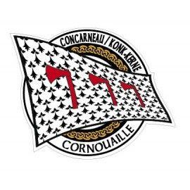 Autocollant Concarneau / Konk Kerne
