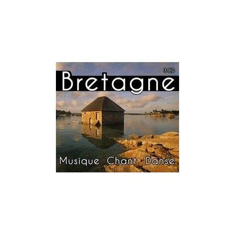 BRETAGNE MUSIQUE CHANT DANSE - Coffret 3 cds