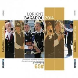 Championnat national des Bagadoù - Lorient 2014 (CD /DVD)