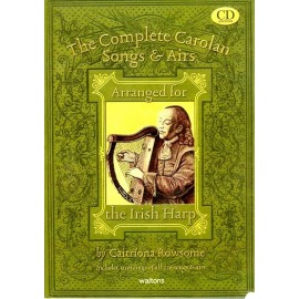 Harpe - The complete Carolan Songs and airs Book and CD arranged by Caitriona Rowsome