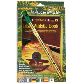 Pack Irish tin whistle en Ré avec CD