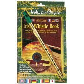 Pack Irish tin whistle en Ré avec CD
