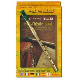 Pack Irish tin whistle en Ré