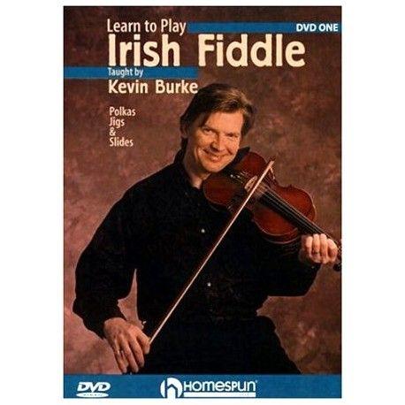 Violon - DVD - Apprendre a jouer le Violon a la mode Irlandaise par Kevin Burke