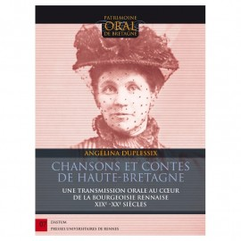 Chansons et contes de Haute-Bretagne d'Angélina Duplessix