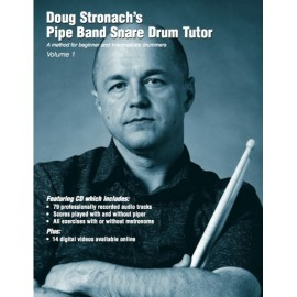 Doug Stronach's Pipe Band snare drum tutor