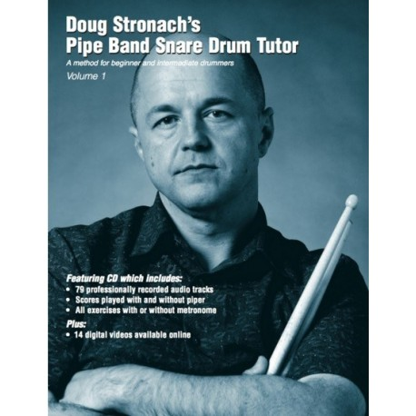 Doug Stronach's Pipe Band snare drum tutor