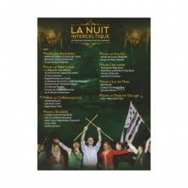 DVD LA NUIT INTERCELTIQUE DU FESTIVAL INTERCELTIQUE DE LORIENT