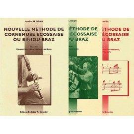 Cornemuse écossaise - Nouvelle méthode - 3 Volumes