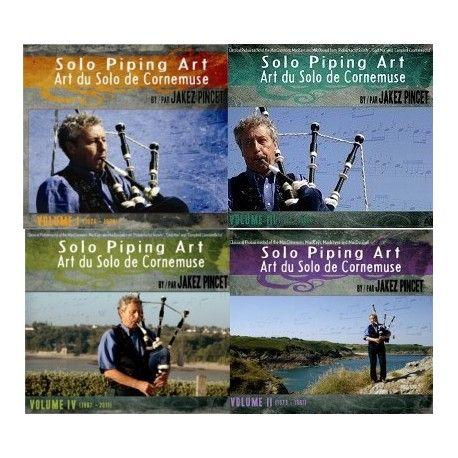 Jakez PINCET - Art du Solo de Cornemuse (Volume I, II, III & IV - 10 CD)