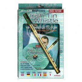 Pack Irish tin whistle en Ré avec DVD