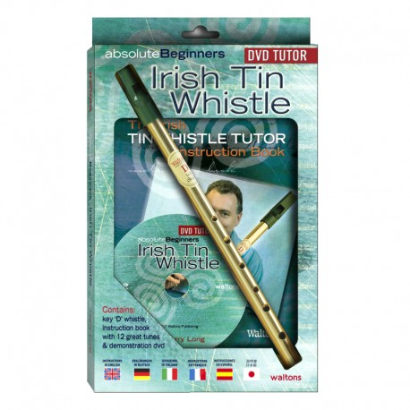 Pack Irish tin whistle en Ré avec DVD