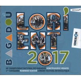 Lorient 2017 - Championnat national des Bagadoù (CD /DVD)