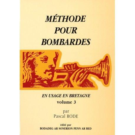 Méthode pour Bombardes - Volume 3