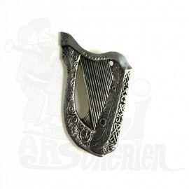 Broche harpe grande