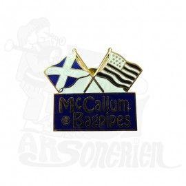 Pin's McCallum Bagpipe (Écosse - Bretagne)