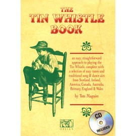 The Tin Whistle Book + CD