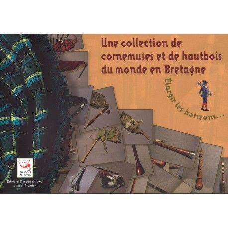 Une collection de cornemuses et de hautbois du monde en Bretagne