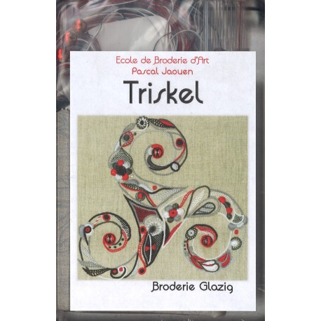 "Coffret de Broderie Glazig - ""Triskel"""