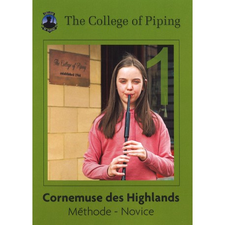 Cornemuse écossaise - Highland bagpipe tutor (+ CD Rom)