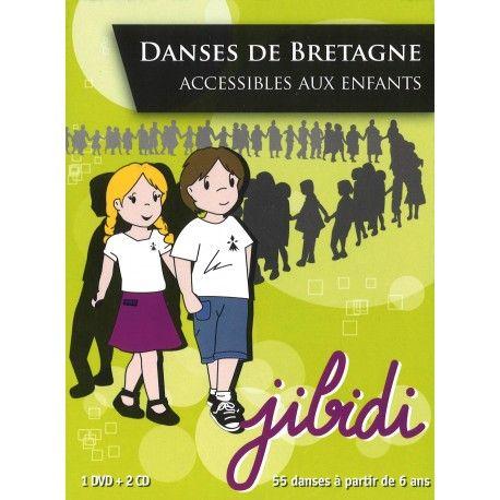 Jibidi - Danses de Bretagne accessibles aux enfants (DVD)