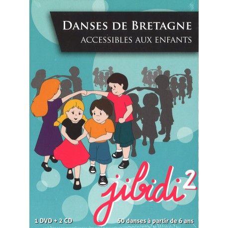 Jibidi 2 - Danses de Bretagne accessibles aux enfants (DVD)