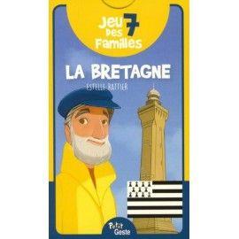 Jeu des 7 familles - La Bretagne