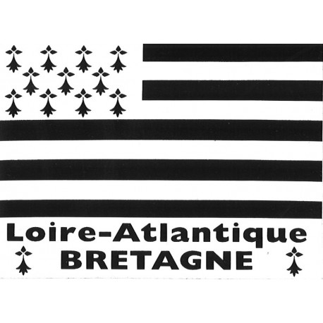 "Autocollant ""Loire-Atlantique BRETAGNE"""