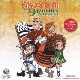 Eñvorerezh des 9 familles celtiques