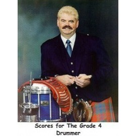 Scores for the grade 4 drummers