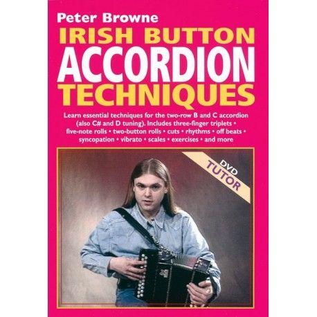 Irish button accordion techniques (DVD)