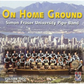 Simon Fraser University Pipe Band - On home ground